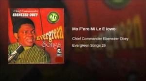 Ebenezer Obey - Mo F